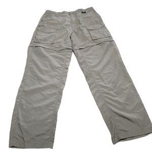 *Columbia Olive Green PFG Convertible Men Pants M